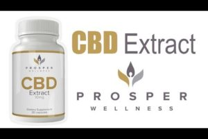 Prosper Wellness CBD Extract Supplements