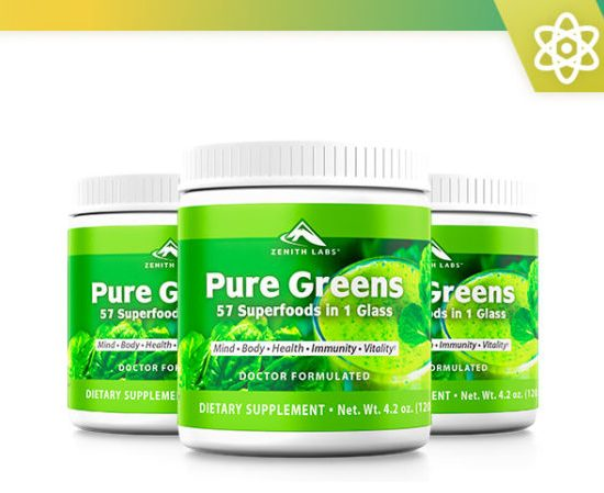 , ZENITH LABS PURE GREEN