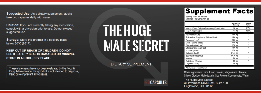 Huge Male Secret