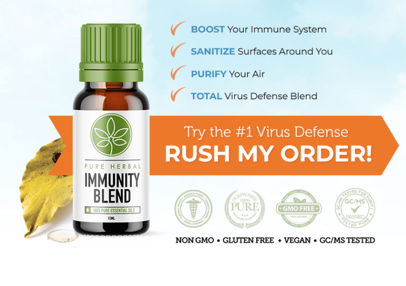 Pure Herbal Immunity Oil