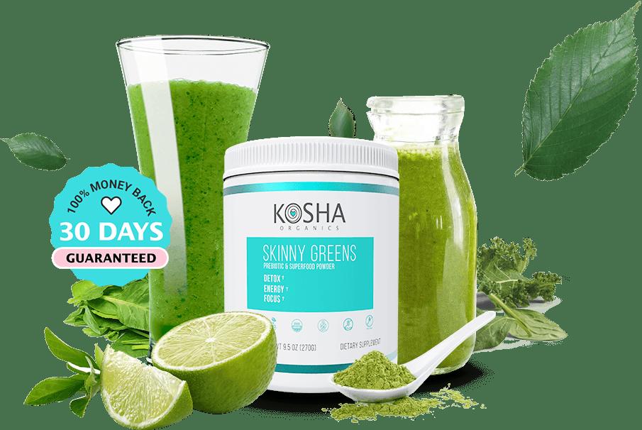 Kosha Organics Skinny Greens