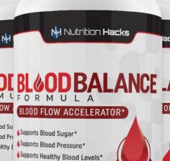 Nutrition Hacks' Blood Balance Formula.